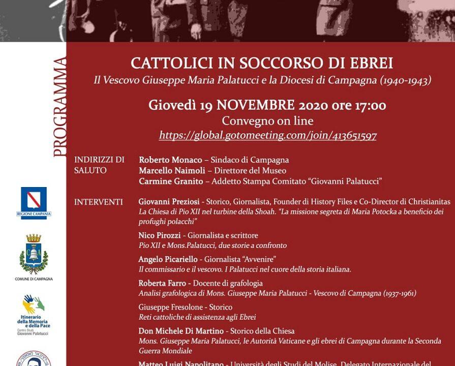 "Convegno a Campagna: ""Cattolici in soccorso di Ebrei"""