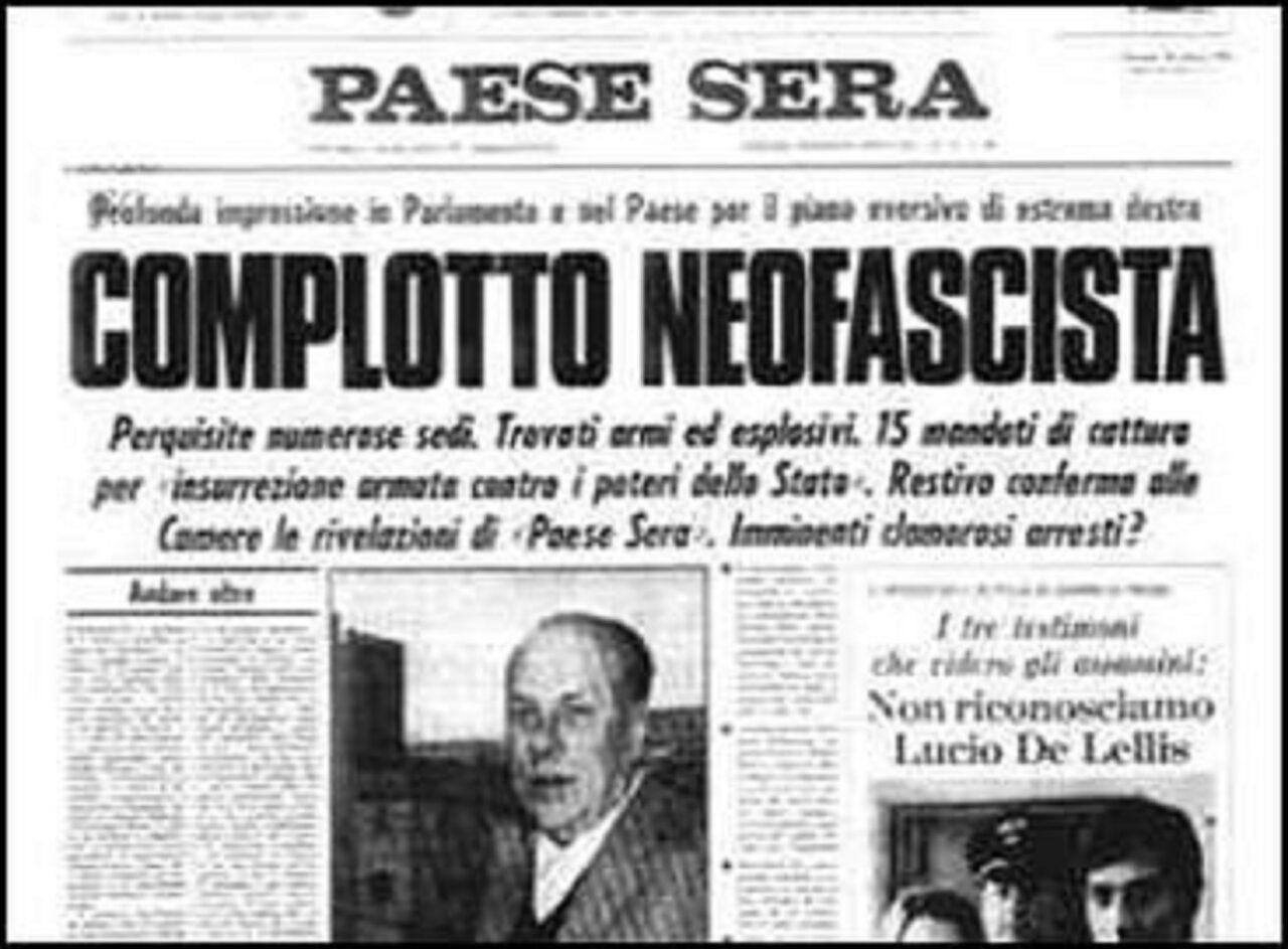 7-8 dicembre 1970: il mistero del Golpe Borghese…