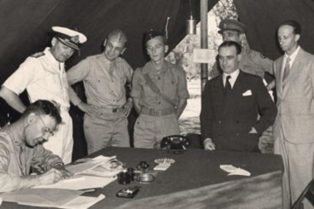 8 settembre 1943: Proclamazione dell'Armistizio. L'Italia volta pagina