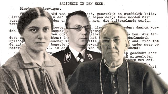 Edith Stein e la lettera di protesta dell'episcopato olandese